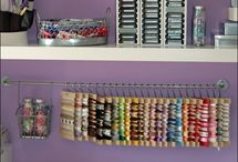 Crafters storage  / by April Hibdon