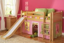 bedrooms and playgrounds