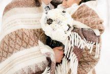 Зимняя свадьба фото