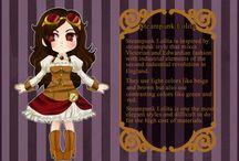 Le Grand Roman, chapitre 1 - Cléo Rouargues / Jeune fille dont l'intelligence n'est éclipsée que par sa manie de courir dans tous les sens et la rapidité de son débit de parole.