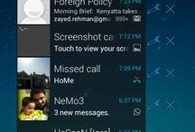Android lock screen widget