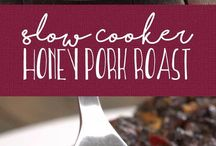 pork  slow cooked