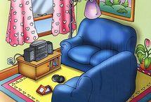 Képek-lakás,bútorok ,használati tárgyak(ovi)