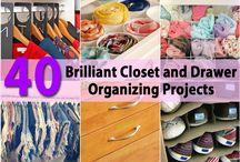 40 Wardrobe organisation tips
