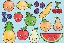 Fruit tekenen