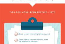 Retargeting & Remarketing infographics