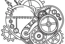 Steampunk Tattoos / Steampunk Tattoos