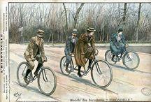 Bicycles Postcards  / Pocztówki z rowerem