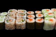 Sushi Counter's Platters / Browse our menu of sushi platters on this board. Visit http://www.sushicounter.com or call for delivery: Dubai Media City: 04 375 1095. Sheikh Zayed Road: 04 388 8065.