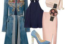 """Outfit of the day / Am să încep de astăzi o nouă serie de postări """"Outfit of the day"""" în care sper să vă inspir in alegerea ținutelor sau chiar în alegera unor noi piese vestimentare în garderoba..."""