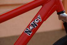 Sid&Nancy / Punk bikes by Muckli
