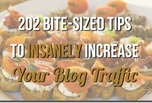 Blog Traffic Central / Blog traffic tips, hacks, and strategies galore. / by Ana Hoffman