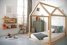 toddler's house frame beds ideas