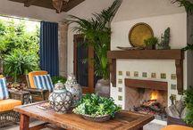 Outdoor Rooms & Courtyards