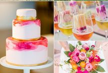Tropical themed wedding ideas / If you're planning a tropical themed wedding then take the time to browse at this mood board to inspire you and help you to reach your desired paradise.