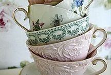 stylish and elegant tea for two