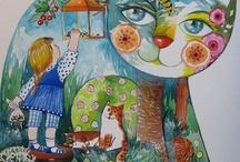gatos arte