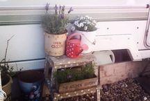 Dotty the vintage caravan / My little haven