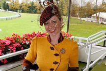 Work by Sharper Millinery / All hats and headpieces created by hand by Sally Harper-Kenn