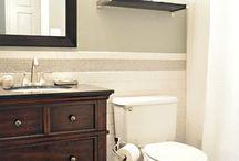 Bathroom / Summer 2015 bathroom reno ideas / by Michelle