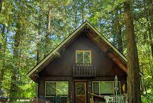 cabins / by Kari @ The Sunset Lane
