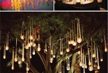 hanging wedding decoration