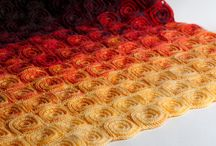 frazadas a crochet