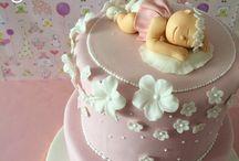 Moldeh para bebés / Diseños de pasteles y Cupcakes para eventos de bebés // Cupcakes and cakes for baby events