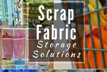 ♥ fabric scraps / by daisy and jack