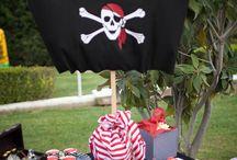 Liam's 1st Birthday Ideas Pirates!