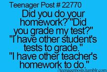 Teenager posts...☆! / The most relatable teenager posts...