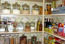 Movin' On Up....Pantry!!! / Ideas n tricks for our new Pantry! / by Amy Stratton