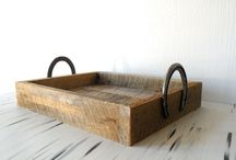 Pallet crafts / Crafts made with recycled pallets