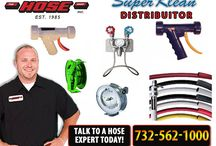 Super Klean Dealer in NJ / We are a manufacturer of Spray Nozzles, Swivel Fittings, 3-Piece Mixer Fittings, Hot & Cold Water Mixing Stations, Steam & Cold Water Mixing Stations, Hoses, Hose Racks, and Hose Accessories. We are your number one source for Industrial Cleaning Equipment for all your sanitation needs. We sincerely hope that you will not only be able to browse through this site with ease but also find all information regarding the products we offer.