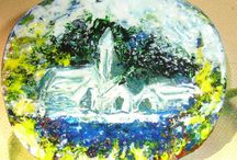 hand painted items / -