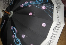 umbrella / Umbrella as a work of art. These umbrellas are hand decorated and are the perfect fashion accessories for you. https://www.facebook.com/madametela/