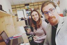 Instagram Oggi si lavora da Megahub, un bellissimo ufficio di co-working di Schio! Rischiamo di fare belle cose qui! :D