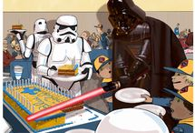 Cub Scout Blue and Gold - Star Wars