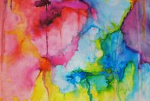 Watercolor / Pretty Puddles of Color / by Skulleigh