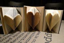 Ideen aus Papier / Papier und Bücher falten