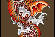 koi - dragon