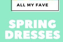 My Favorite Spring Dresses