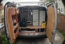 van shelving and storage
