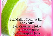 Adult beverage recipes