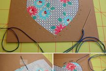 card making with fabrics