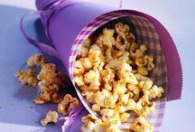 Recettes Salées / Les meilleures recettes de popcorn salé !