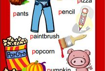 Beginning Sounds Phonics Posters / Phonics word list posters for your Word Wall or back of the toilet door :-)