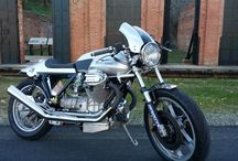 My guzzi / 78 Le mans before and after.Had the bike for 20+ years