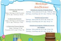 Workshops Arts2Science