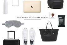 For the Gal on the Go / Enjoy the journey. Travel essentials for ultimate style + comfort.